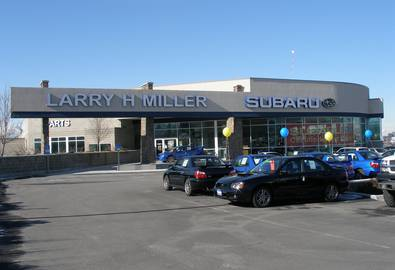 Larry H Miller Chevrolet >> Automotive | Rob E McQuay Architects & Associates